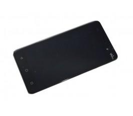 Pantalla completa LCD Display táctil y marco para Wiko Lenny 3 Negro