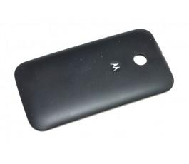 Tapa trasera para Motorola Moto E XT1021 Negra Original