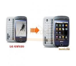 CAMBIAR PANTALLA LCD LG GW620 - Imagen 1