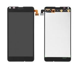 Pantalla completa táctil y lcd display para Microsoft Nokia Lumia 640 negra