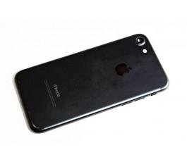 Carcasa trasera para Iphone 7 4,7 pulgadas negro mate Original