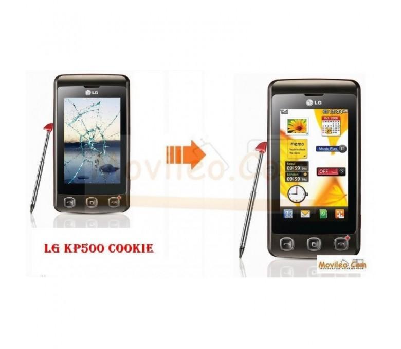 CAMBIAR PANTALLA TACTIL LG KP500 COOKIE - Imagen 1