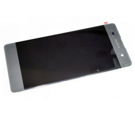 Pantalla completa táctil y LCD display para Sony Xperia XA F3111 F3113 F3115 Gris