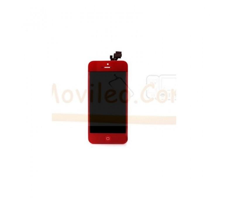 Pantalla Completa Roja iPhone 5 - Imagen 1