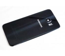 Tapa trasera para Samsung Galaxy S7 Edge G935F Negro Original