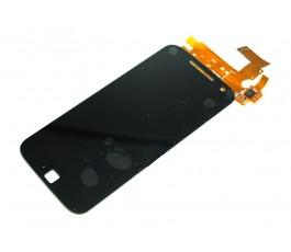 Pantalla completa táctil y lcd para Motorola Moto G4 Plus negra
