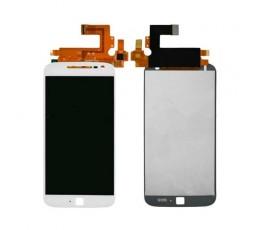 Pantalla completa táctil y lcd para Motorola Moto G4 Plus blanca