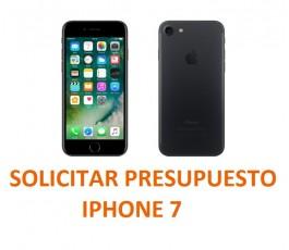 Presupuesto de reparación Iphone 7