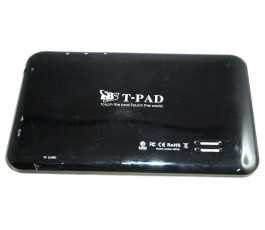 Tapa trasera para T-PAD M713 negra original