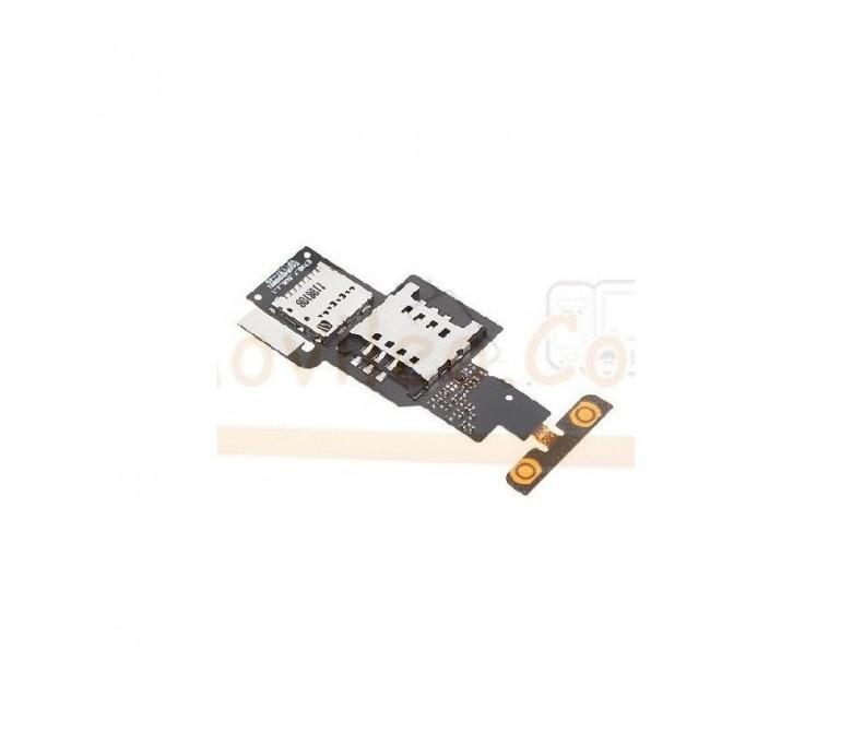Flex Lector Sim, MicroSD y Volumen para Lg Optimus Sol E730 - Imagen 1