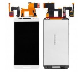 Pantalla completa táctil y lcd Motorola Moto X Stylus XT1572 blanca