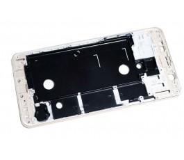 Carcasa Intermedia para Samsung Galaxy A5 2016 Plata