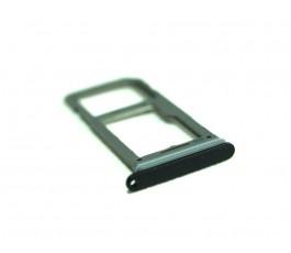 Porta sim y sd para Samsung Galaxy S8 G950F y S8 Plus G955F negra