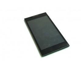 Pantalla completa lcd tactil y marco para Selecline 854599 v2 negro