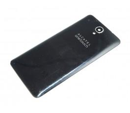 Tapa trasera para Alcatel Idol X+ Plus OT-6043 negra Original