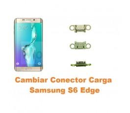 Cambiar conector carga Samsung Galaxy G928 S6 Edge Plus