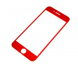 Cristal templado para iPhone 7 4.7´´ rojo