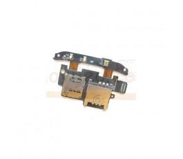 Modulo Lector Sim, MicroSD y Microfono para Htc Desire S G12 - Imagen 1