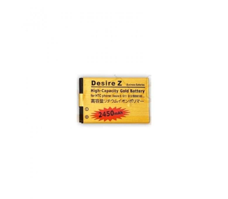 Bateria Gold de 2450mAh para Htc Desire S G12 G11 - Imagen 1