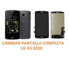 Cambiar Pantalla Completa LG K5 X220