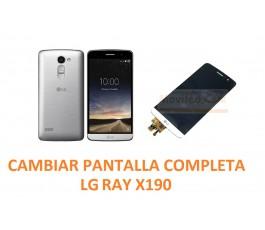 Cambiar Pantalla Completa LG Ray X190