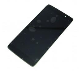 Pantalla completa táctil y lcd para Alcatel Idol 4 OT-6055 OT 6055 negra