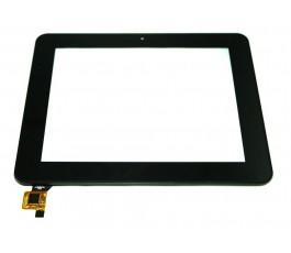 Pantalla táctil con marco para Woxter Smart Tab 80 negro original