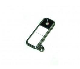 Cristal embellecedor cámara y botones para Lg K7 X210 blanco