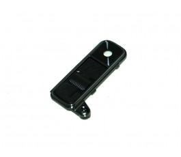 Cristal embellecedor cámara y botones para Lg K7 X210 negro