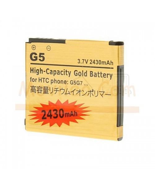 Bateria Gold de 2430mAh para Htc Nexus One G5 - Imagen 1