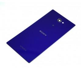 Tapa trasera con NFC para Sony Xperia M2 morada original
