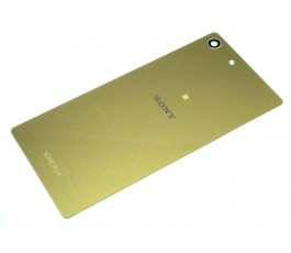 Tapa trasera con NFC para Sony Xperia M5 dorada original
