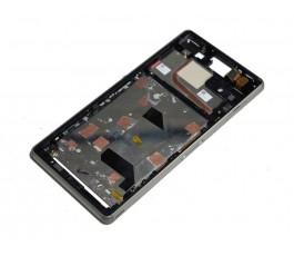 Marco pantalla lcd display para Sony Xperia Z3 D6603 D6643 D6653 verde original