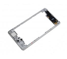 Marco intermedio para Sony Xperia Z1 Compact gris original