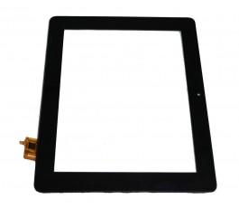 Pantalla táctil con marco para Mediacom SmartPad 875s2 3G negro original