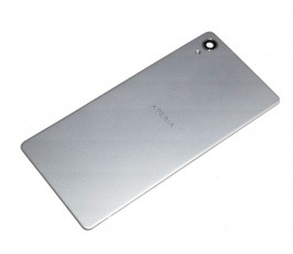 Tapa tarsera para Sony Xperia X Performance F8131 gris plata original
