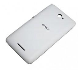 Tapa trasera para Sony Xperia E4 blanca original