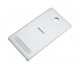 Tapa trasera para Sony Xperia E1 blanco original