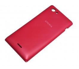 Tapa trasera para Sony Xperia J St26 St26i rosa original