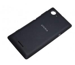 Tapa trasera con NFC para Sony Xperia L C2104 C2105 S36H negra original