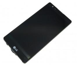 Pantalla completa táctil lcd display y marco para Lg X Power K220 negro