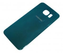Tapa Trasera para Samsung Galaxy S6 G920F Azul Metalizado