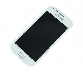Pantalla completa para Samsung Galaxy Trend Plus S7580 blanca original