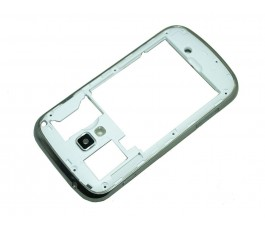 Marco intermedio para Samsung Galaxy Trend Plus S7580 plata original