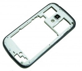 Marco intermedio para Samsung Galaxy Trend Plus S7580 gris original