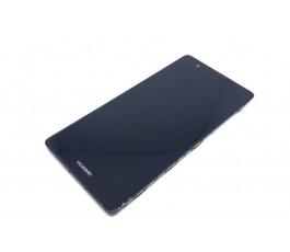 Pantalla completa con marco para Huawei P9 EVA- L09 negra original