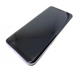 Pantalla completa con marco Samsung Galaxy S8 Plus G955F negro-gris original