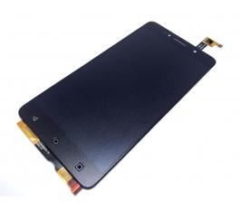 Pantalla completa táctil y lcd para Alcatel OT-8050D Pixi 4 (6) 8050D negra