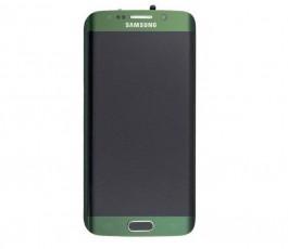 Pantalla Completa Con Marco para Samsung Galaxy S6 Edge G925 Verde