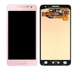 Pantalla completa lcd y tactil para Samsung Galaxy A3 A300 rosa